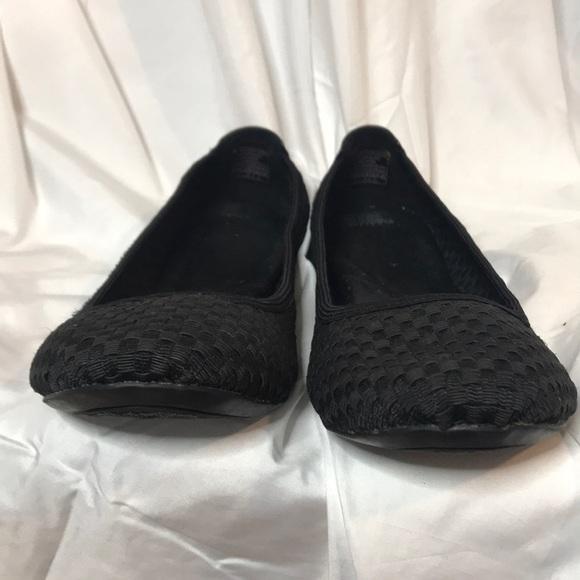 Skechers Black Basket Weave Black